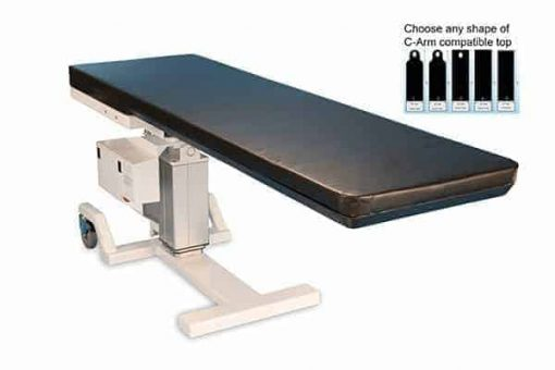 pain-management-c-arm-table-8000HT- RT carbon fiber table top