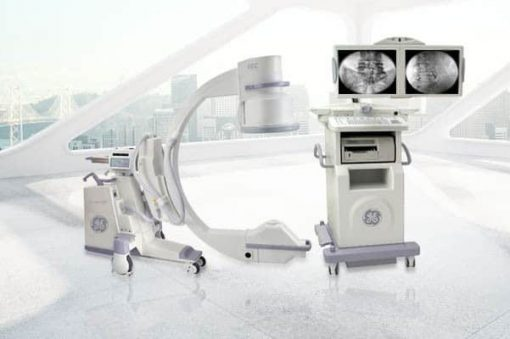 OEC 9900 MD c-arm 12 inch image intensifier with monitor cart