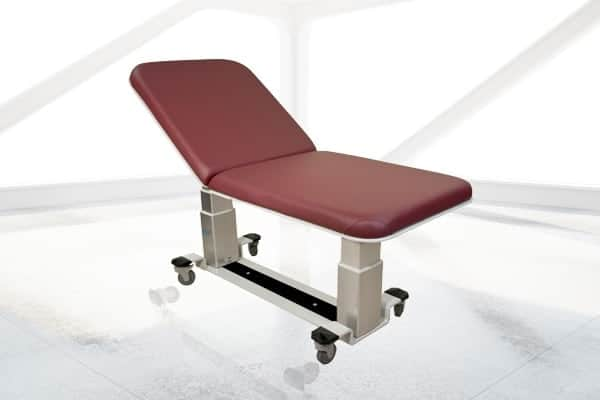 OAKWORKS GENERAL ULTRASOUND TABLE WITH FOWLER BACK