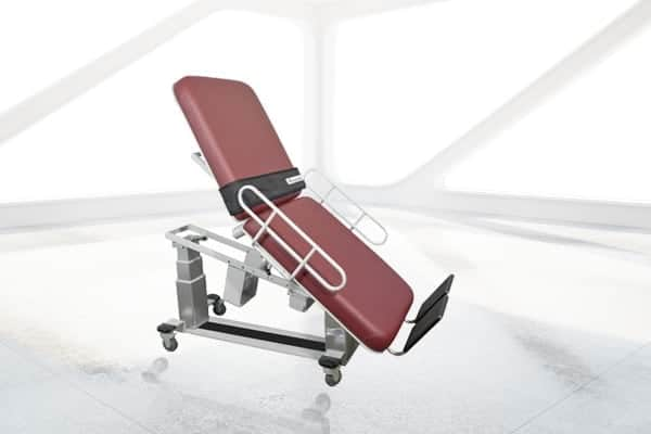 OAKWORKS  VASCULAR ULTRASOUND TABLE WITH FOWLER