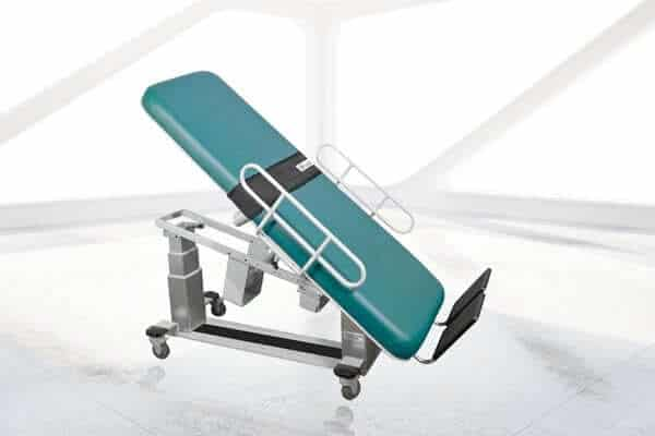 OAKWORKS VASCULAR ULTRASOUND TABLE WITHOUT FOWLER BACK