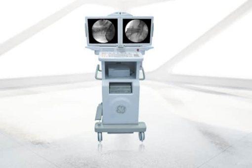 OEC 9900 c-arm monitor cart