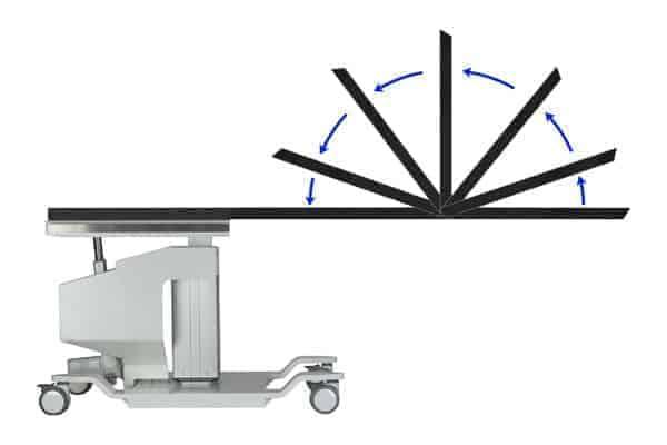 PMT 8000 HLES-FT PAIN MANAGEMENT C-ARM TABLE