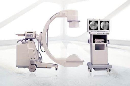 GE-OEC 9600-Super-C C-arm with Monitor Cart
