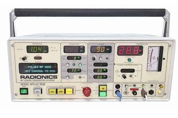 RADIONICS RF LESION GENERATOR